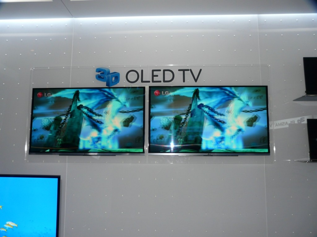 The LG OLED 3D is most impressive