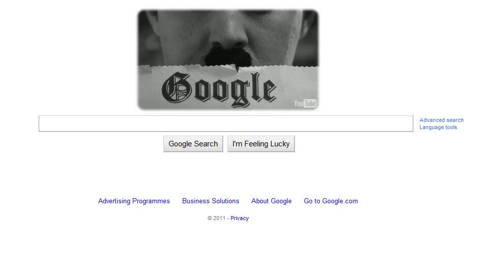 earth day 2011 google. 16:32 - 15 Apr 2011. Google
