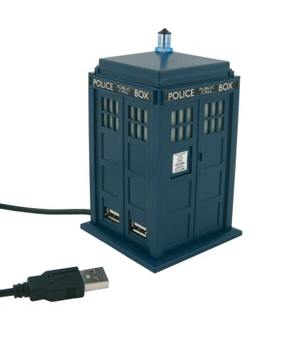 Doctor Who USB Hub – BBC Approved Tardis with 4 USB Ports