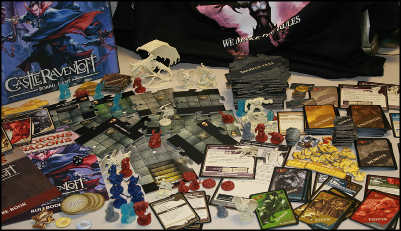 Win A Dungeons and Dragons Castle Ravenloft Board Game
