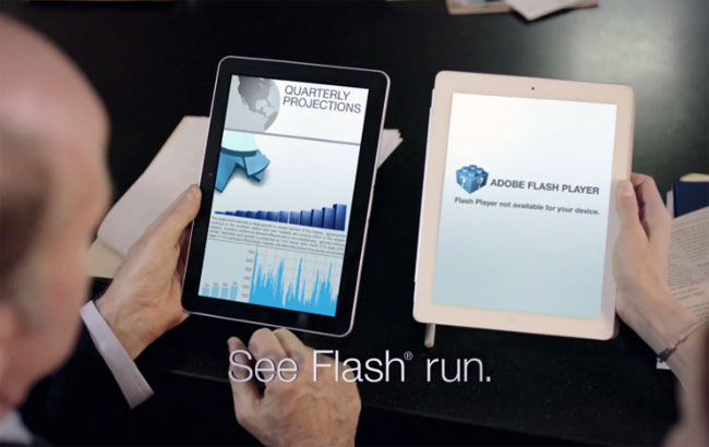 Samsung Galaxy Tab 10.1 Advert Pokes fun at Apple iPad 2