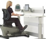 New office exercise product lets you exercise while working