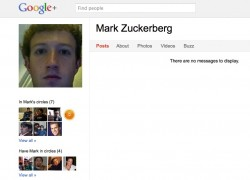 "Google+ ""invaded"" by Facebook's Mark Zuckerberg"