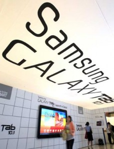 Samsung's latest Galaxy Tab banned in Europe