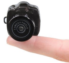 Hammacher Schlemmer unveils the World's Smallest Camera