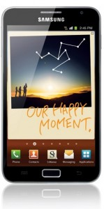 Samsung Galaxy Note to be released in the UK on November 17