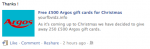 Facebook Argos Scam Joins Spate of Voucher Hoaxes