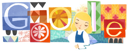 Google celebrates Mary Blair's 100th birthday with a doodle