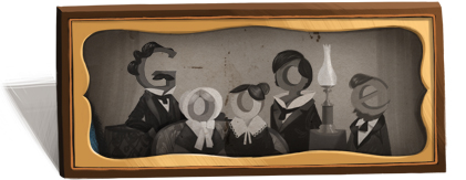 Google celebrates the 224th birthday of Louis Daguerre