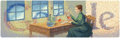 Google celebrates Marie Curie's 144th birthday with doodle