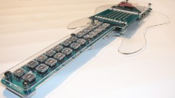 TabStrummer programmable MIDI guitar works like a keyboard