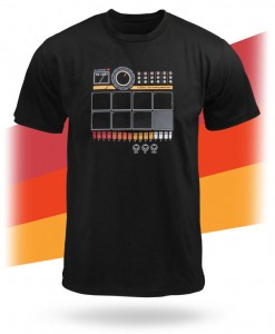 Drum machine shirt lets you pump out beats anywhere, anytime