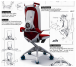 Fit@Work Fitness Chair – Get Fit Whilst Sitting Down