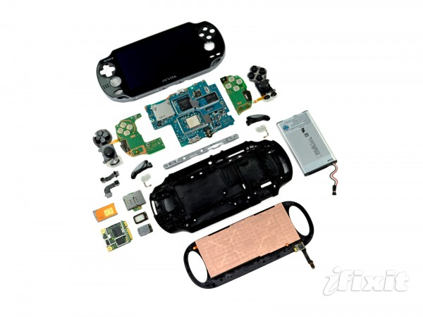 PS Vita Gets its Guts Ripped Out in the name of Science