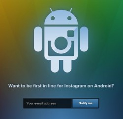 Instagram opens up registration for its Android version