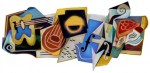 Google celebrates Juan Gris' 125th birthday with a doodle