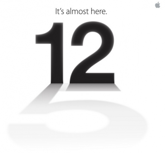Apple Event announced – iPhone 5 Release Date on 12th September