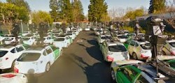 How Many Vehicles Capture Google Street Maps Images?
